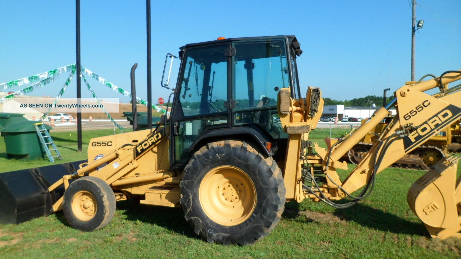 Ford 655d Backhoe Parts : Ford c backhoe weight
