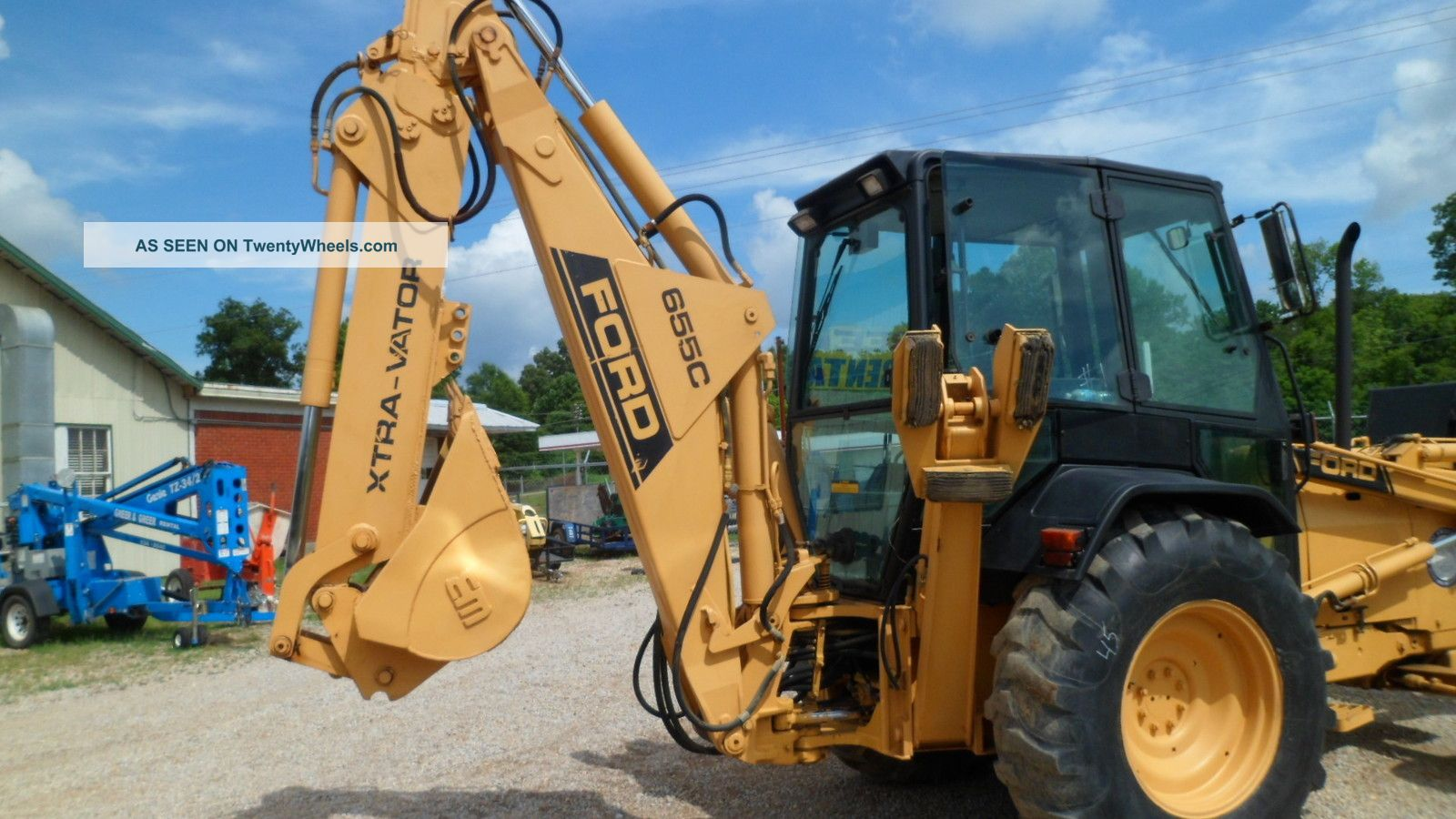 Ford 555d Backhoe Parts : Ford c backhoe weight