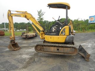 2008 Komatsu Pc35 Mr - 2 Sold 4/08,  Rubber Track Mini Excavator photo