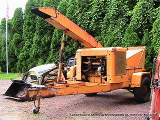 Chipmore Brush Tree Wood Chipper Tm - 120 - G3 Ford 6 Cyl Maintained photo