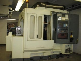 91 Kitamura H400 Cnc Horizontal Machining Center Fanuc 100 Tools Full 4th Axis photo