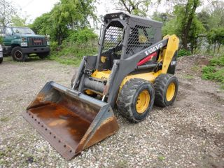 2005 Volvo Skid Steer Model Mc110b 82hp 1465 Hours 06300 photo