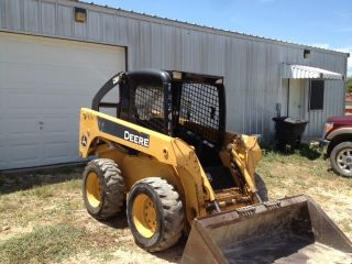 John Deere 317 Skid Steer Loader. . .  Ready For Work photo