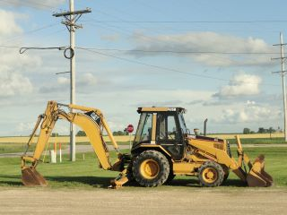 1995 Caterpillar 426b Turbo 4x4 Loader photo