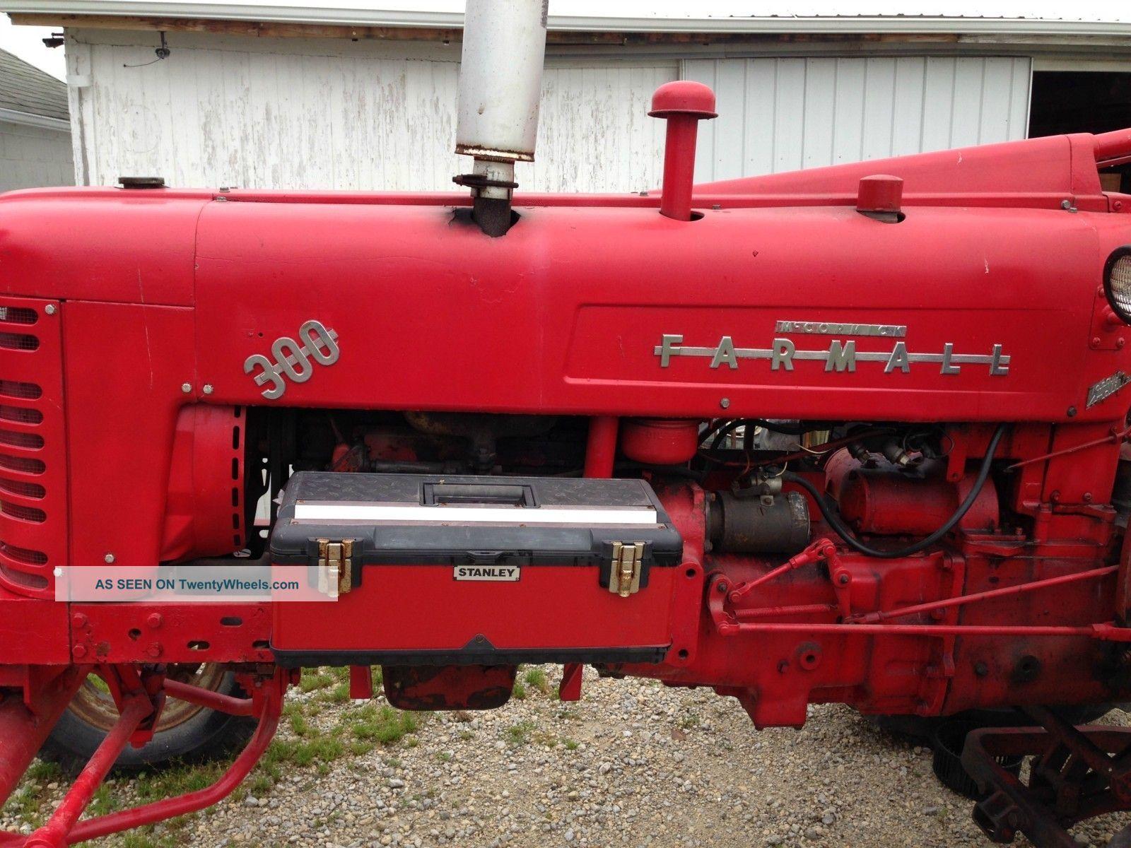 Farmall International Tractor Fast Hitch Lgw