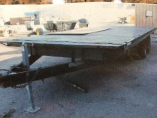 2007 Carson 8 - 1/2 ' X20 ' Flatbed Trailer 10,  000 Gvw photo
