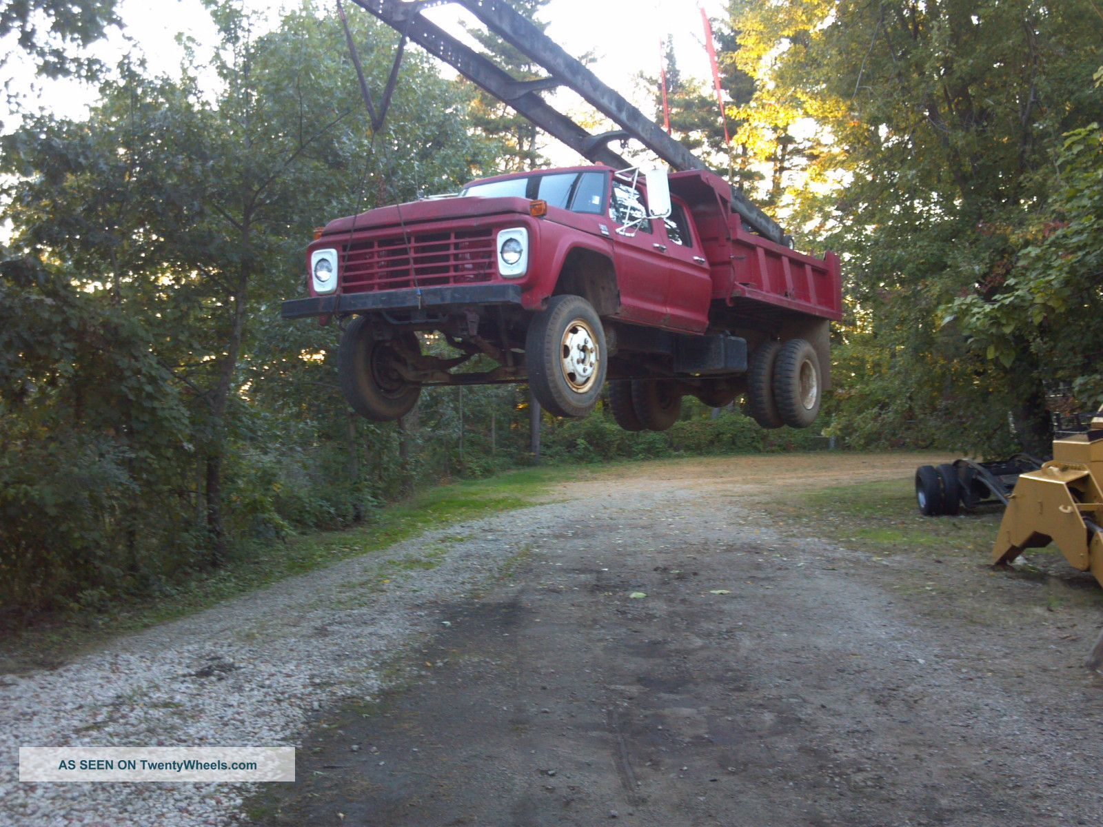 1978 Ford F600 Dump Trucks photo