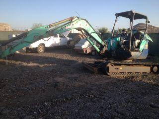2002 Ihi Nx 45 Mini Excavator Runs Exc Needs Rt Drive Motor Misc 11000 Lb photo