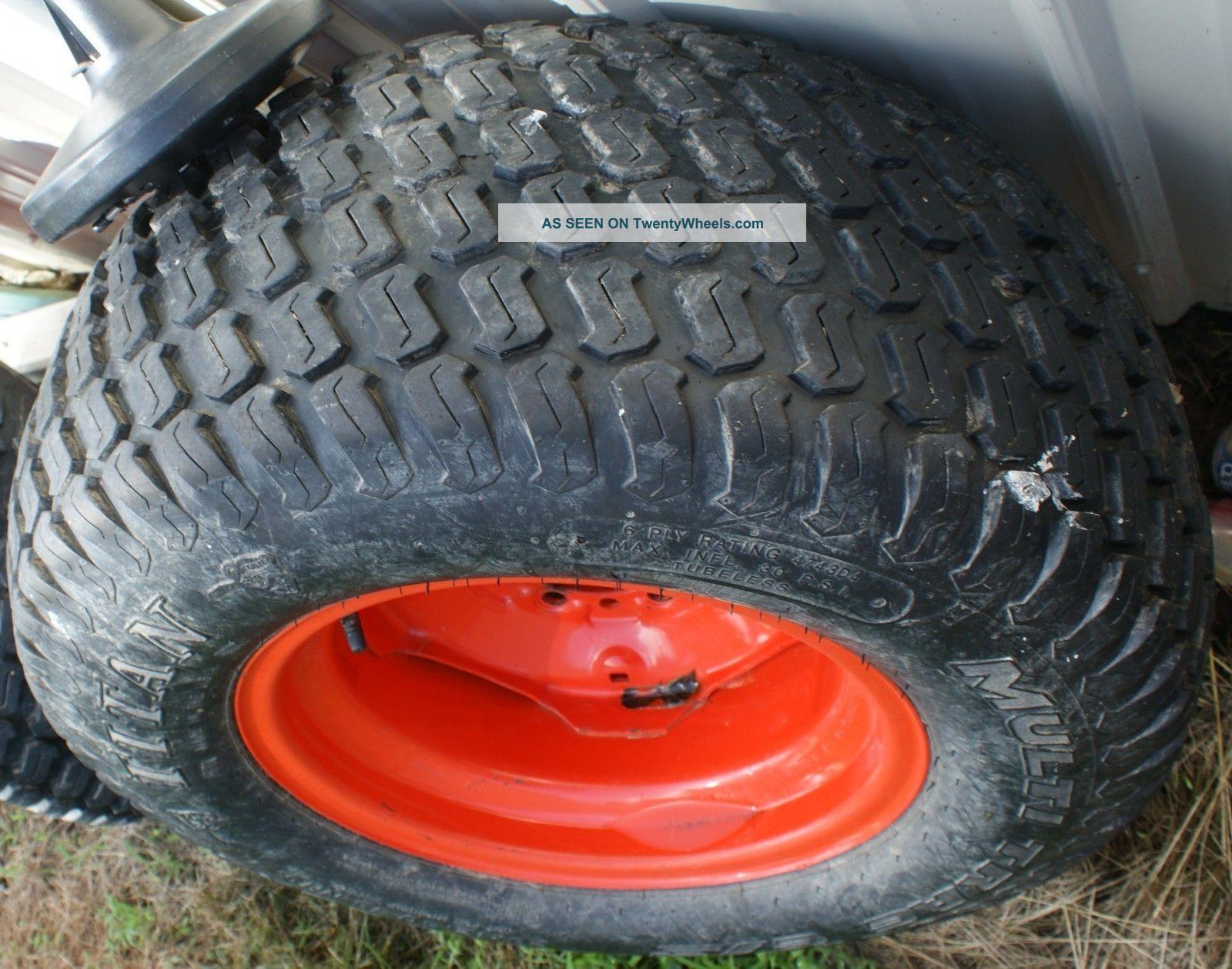 Kubota Tractor Rims Wheels : Tires and rims kubota