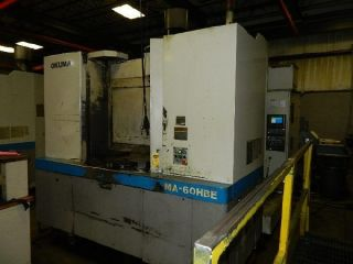 Ma - 60hbe Okuma 3 - Axis Cnc Horizontal Machining Center - Sam1004 photo