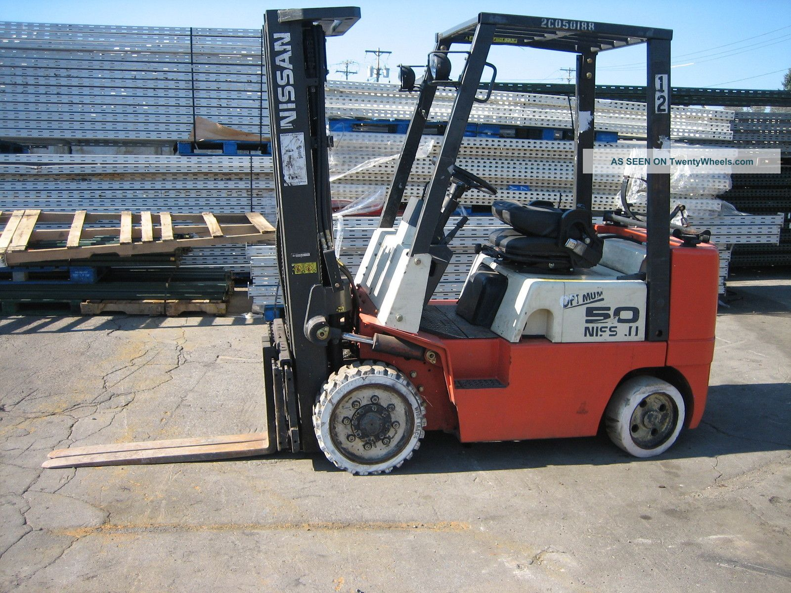 100+ Nissan 50 Forklift Specifications – yasminroohi