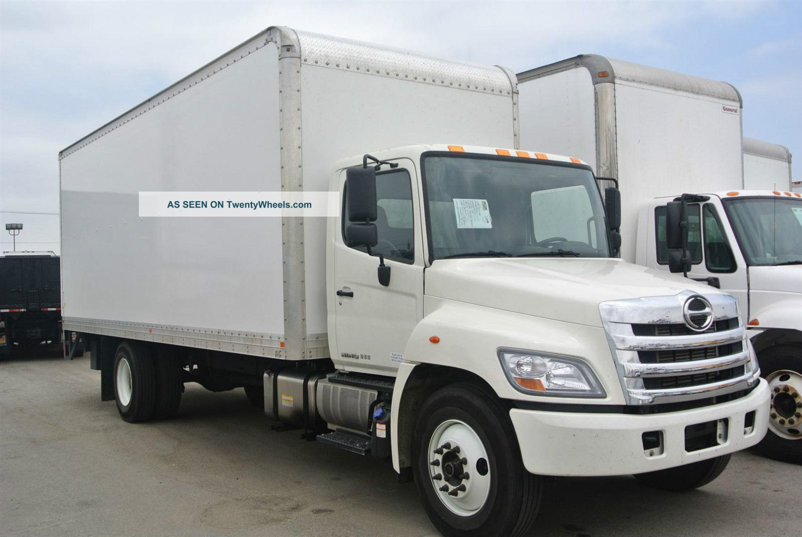2012 Hino 268 by Toyota