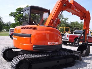 95 Hitachi Ex75 Ur Hours 2679 photo