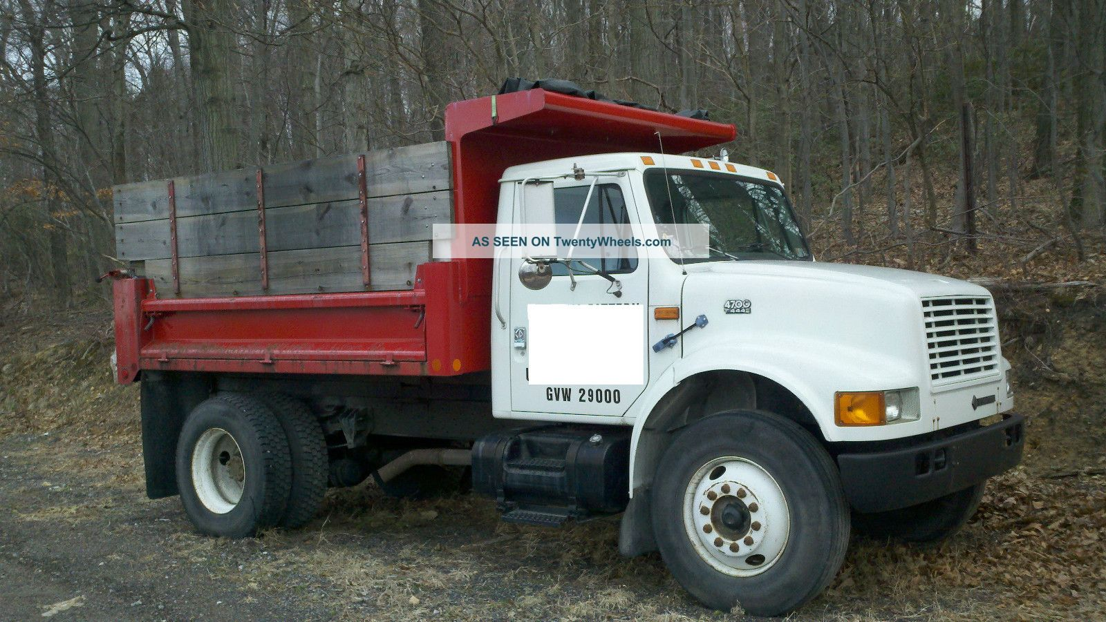 1996 International 4700 - 444e Dump Trucks photo
