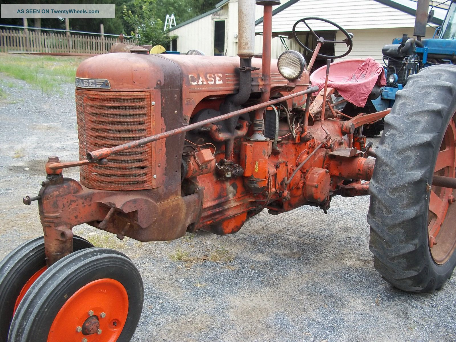 Case Sc - 3 Tractor Excellent Restoration Project Other photo