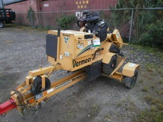 Vermeer Sc252 Stump Grinder,  2007,  Matching Trailer,  We Can Ship $1.  00 Per Mile photo