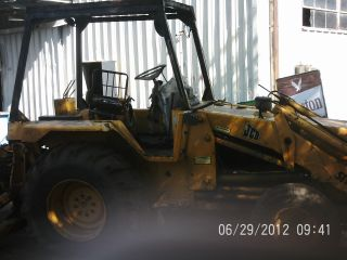 Jcb 1400b Backhoe Loader photo