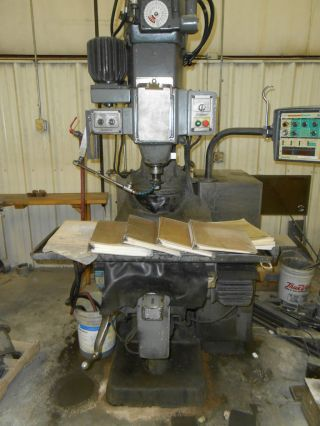 Bridgeport Cnc Mill With Tooling Package photo