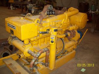 Cat D343 Turbo Charged Engines W/ Pto & Ac Generator photo