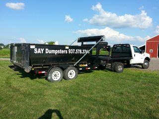 Wastequip 10k Roll Off Trailer Priced Reduced For A Quick Sale photo