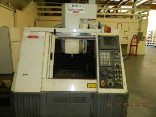 Roku - Roku Mega 360 High Speed Machining Center Vmc 36000 Rpm Fanuc 16 Im photo