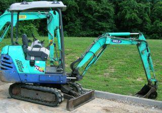 2004 Ihi 17ne Mini Excavator photo