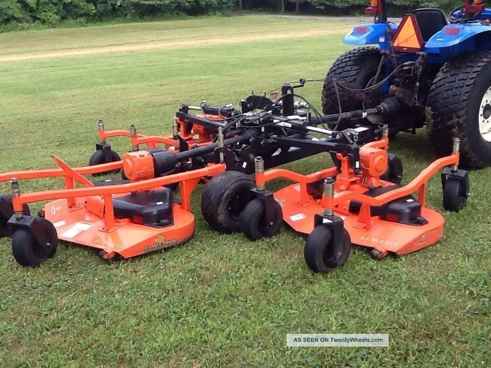 Best Finish Mower For Tractor : Holland loader tractor finish mower