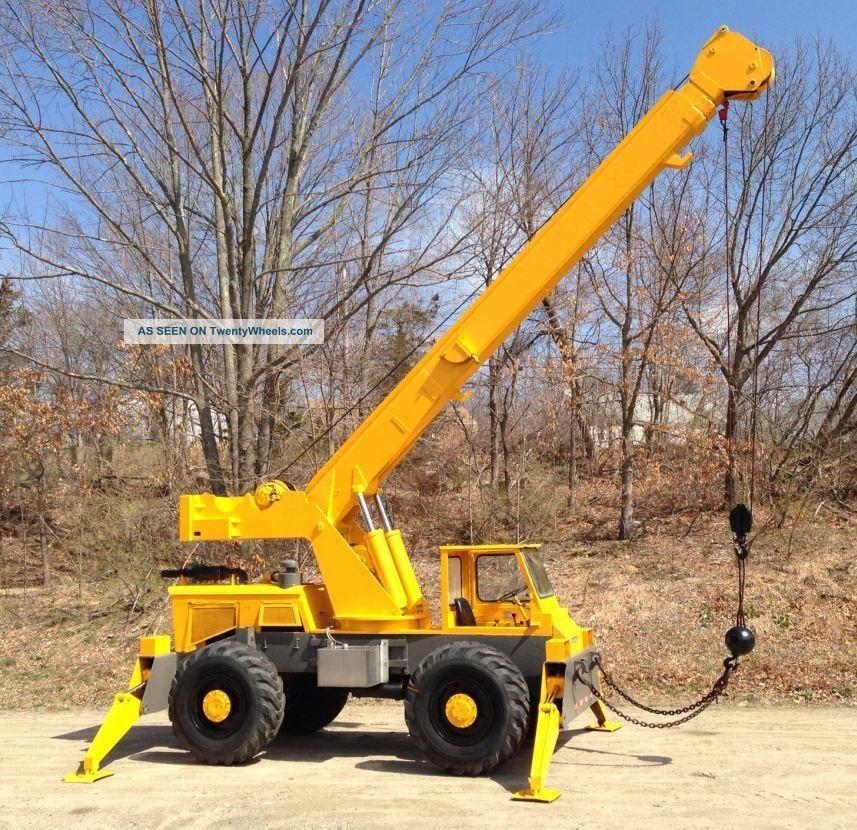 Grove crane rt58 operates perfectly for Crane grove