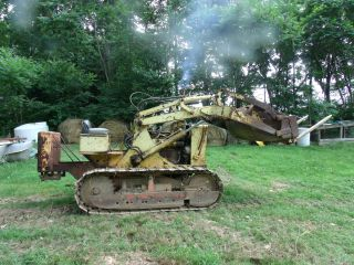 Case 310 Crawler Diesel Loader Dozer Bucket - This Is A Good Machine. photo