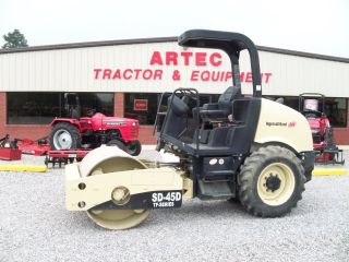 2005 Ingersoll Rand Sd45d Smooth Drum Compactor - photo