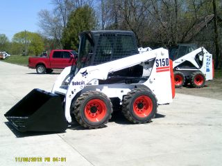 Bobcat 2005 S150 Cab/heat - - - Tires/wheels - - Love It Or Leave It Gaurantee photo
