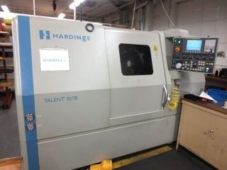 Hardinge Talent 10/78 Cnc Turning Center Tailstock Custom Macro B photo