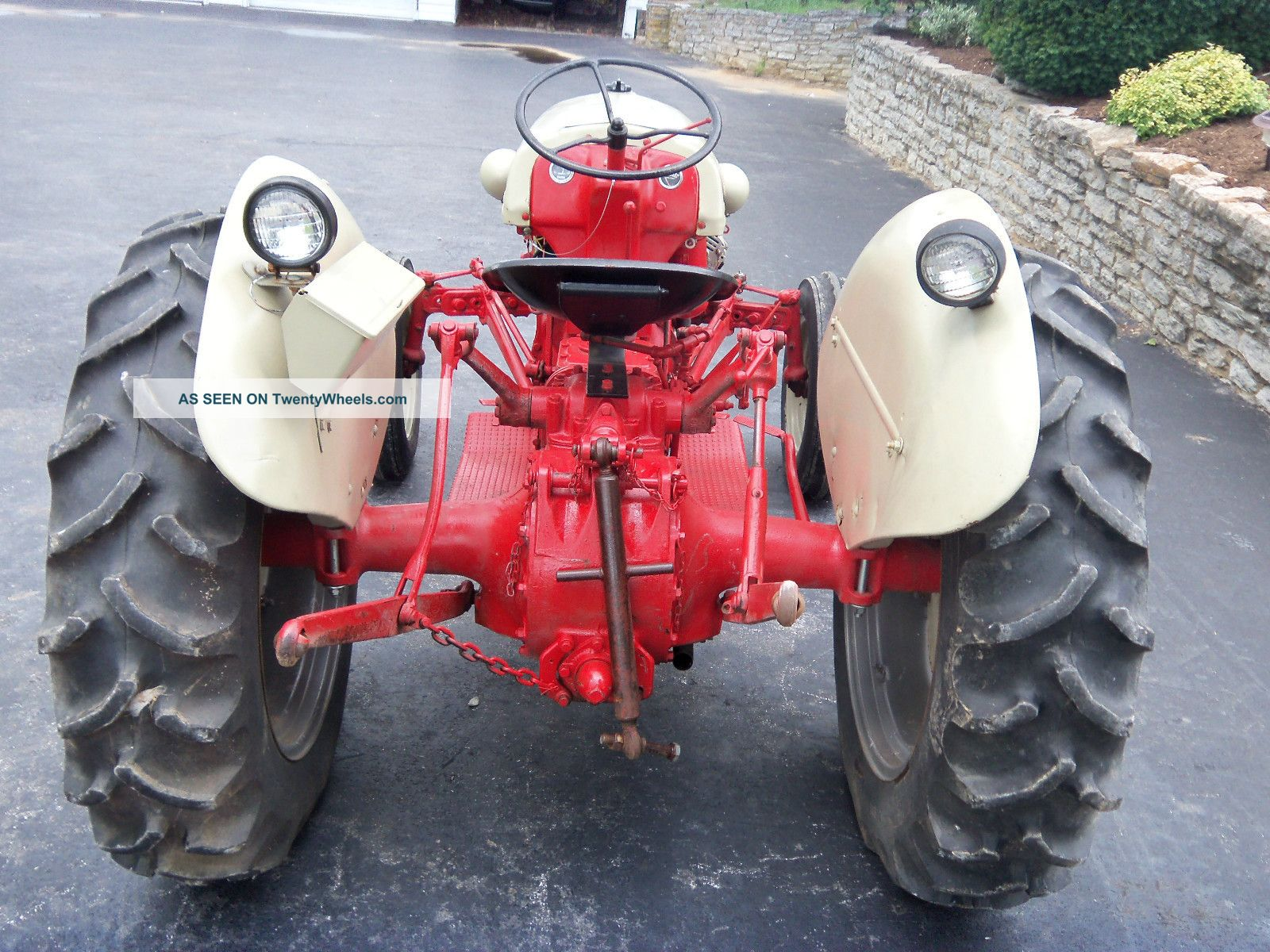 1950 Ford Tractor Tractor Vermilion : Ford n tractor