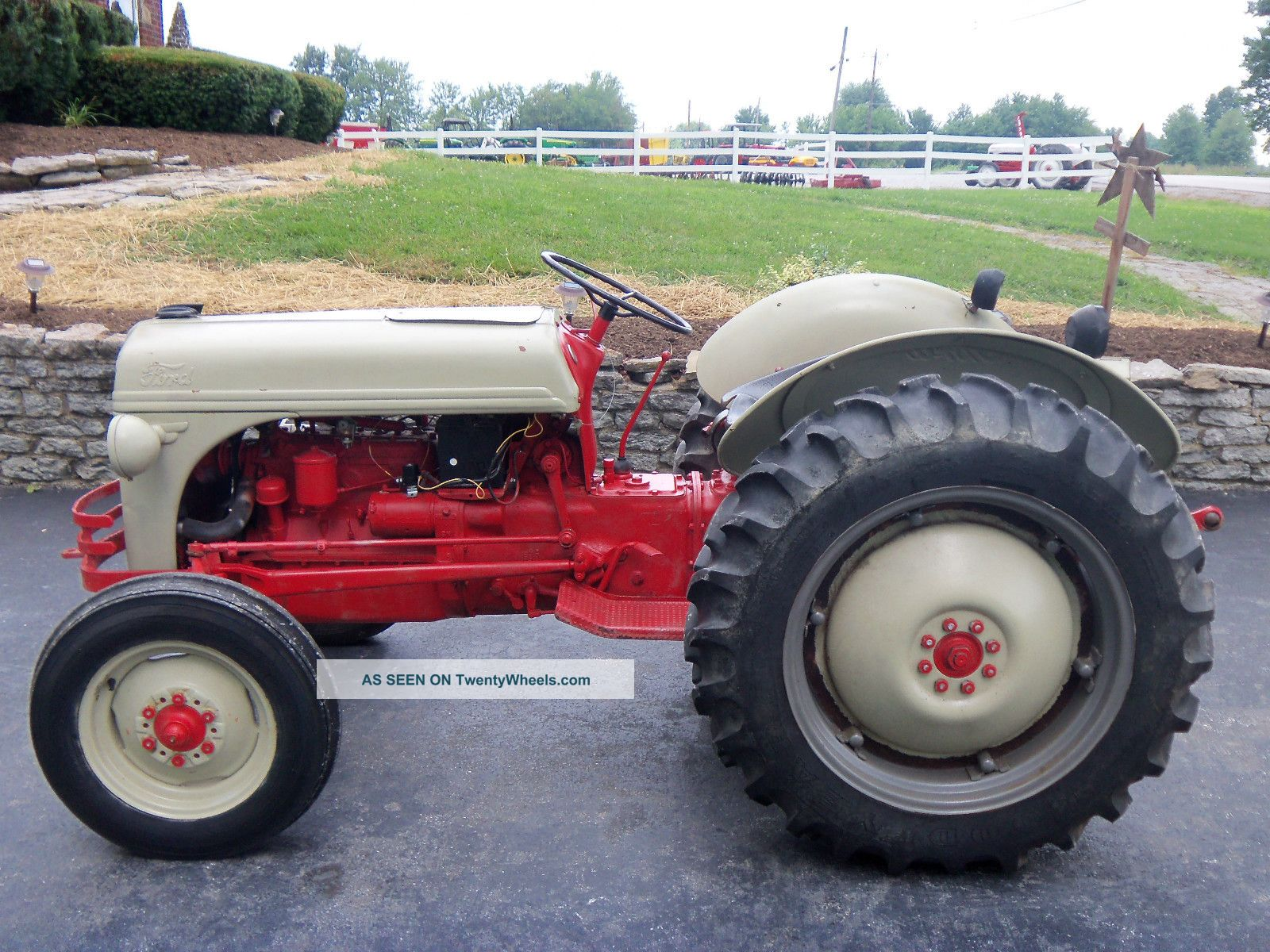 1950 Ford Tractor : Ford farm tractor