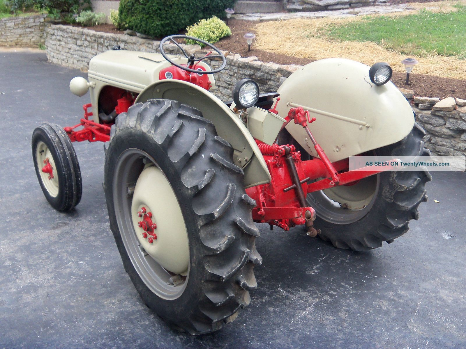Ford 8n Tractor Dimensions : Ford n horsepower
