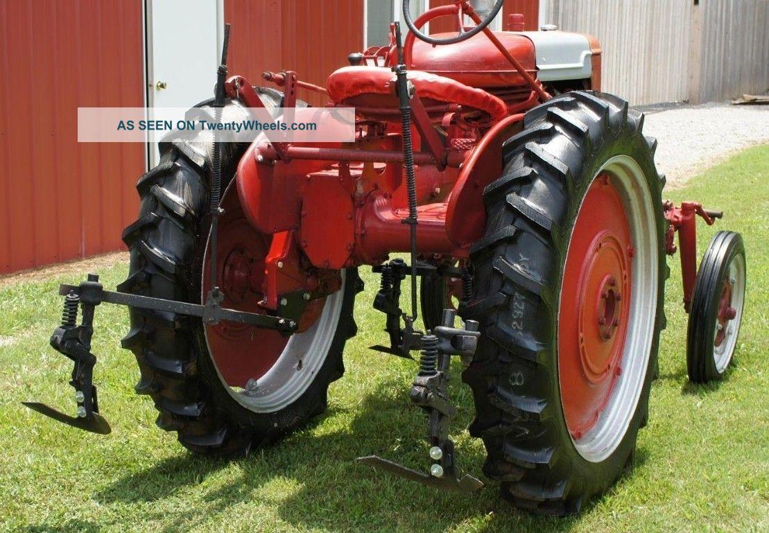 Farmall Super A Cultivator : Ih farmall av hi clearance vegetable tractor