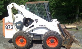 2000 Bobcat 873 Skid Steer Loader photo