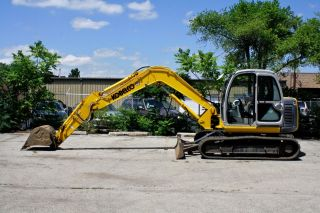 2006 Kobelco 80cs Midi Excavator One Owner Low A/c Heat Great Deal photo