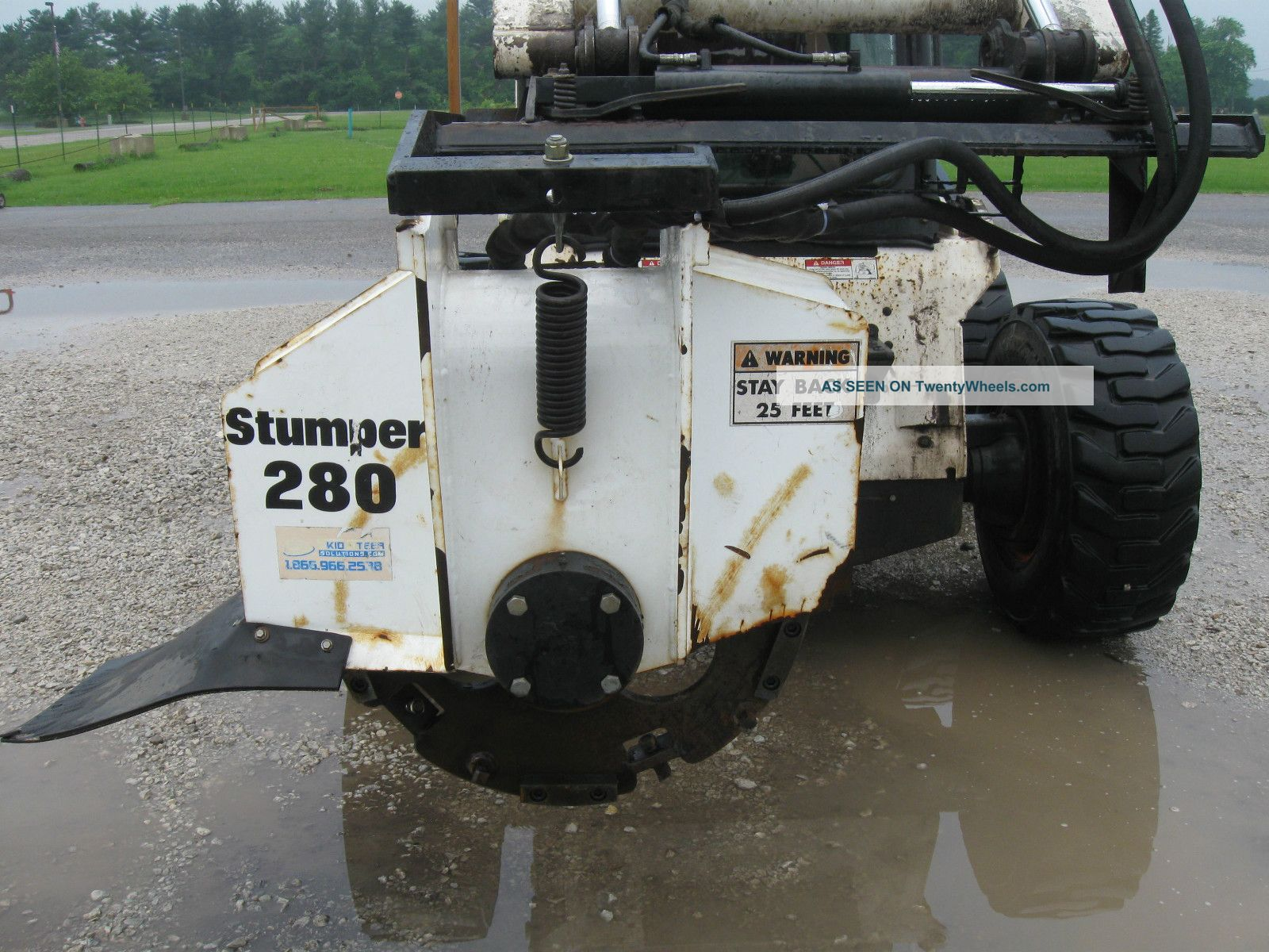 Stump Grinder Attachment Equipment photo
