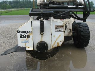 Stump Grinder Attachment photo