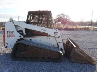 2007 Bobcat T250 Skid Steer Loader photo