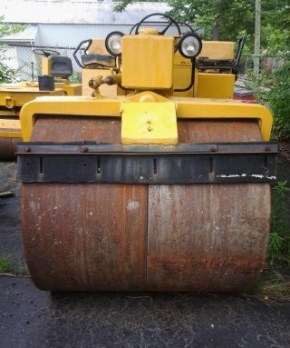 10 Ton Hyster Roller photo