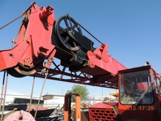 25 Ton Grove Tms250a Hydraulic Truck Crane.  Grove Crane,  Hydraulic Truck Crane photo