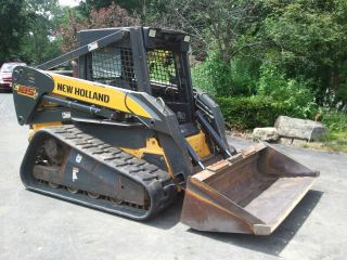2005 Holland Compact Track Loader,  Diesel,  Only 731 Hours,  Great Shape photo