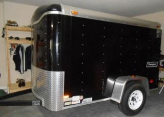 Enclosed 5 X 8 Trailer By Haulmark photo