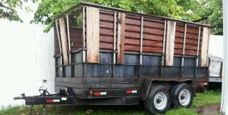 Dump Trailer 2007 14 Feet 7500 Pound Axles photo
