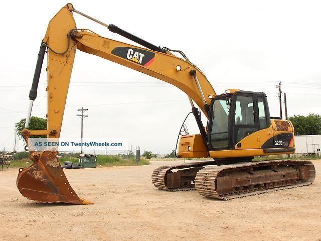 2008 Caterpillar 320d Lrr Excavator - Crawler Excavator