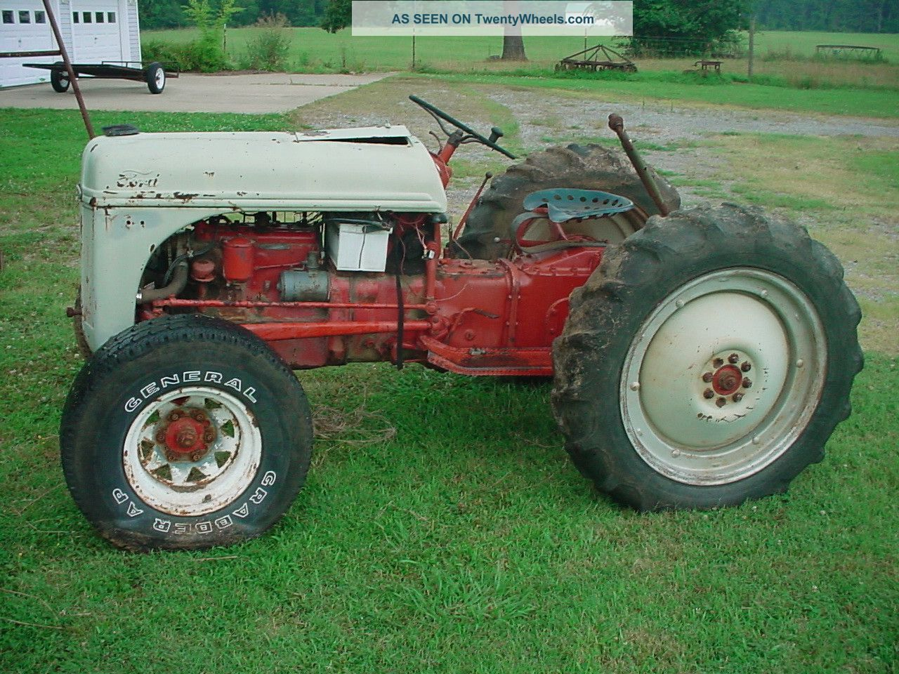 1950 ford 8n tractor. Cars Review. Best American Auto & Cars Review