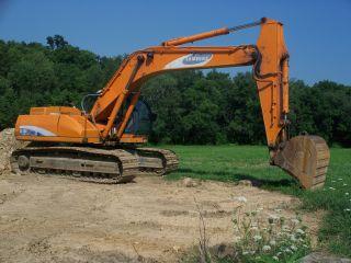 Se - 280 Lc Samsung Excavator photo