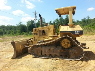 Caterpillar D5h Crawler Dozer Tractor 6 Way Hydraulic Blade Bob Cat D 4 H photo